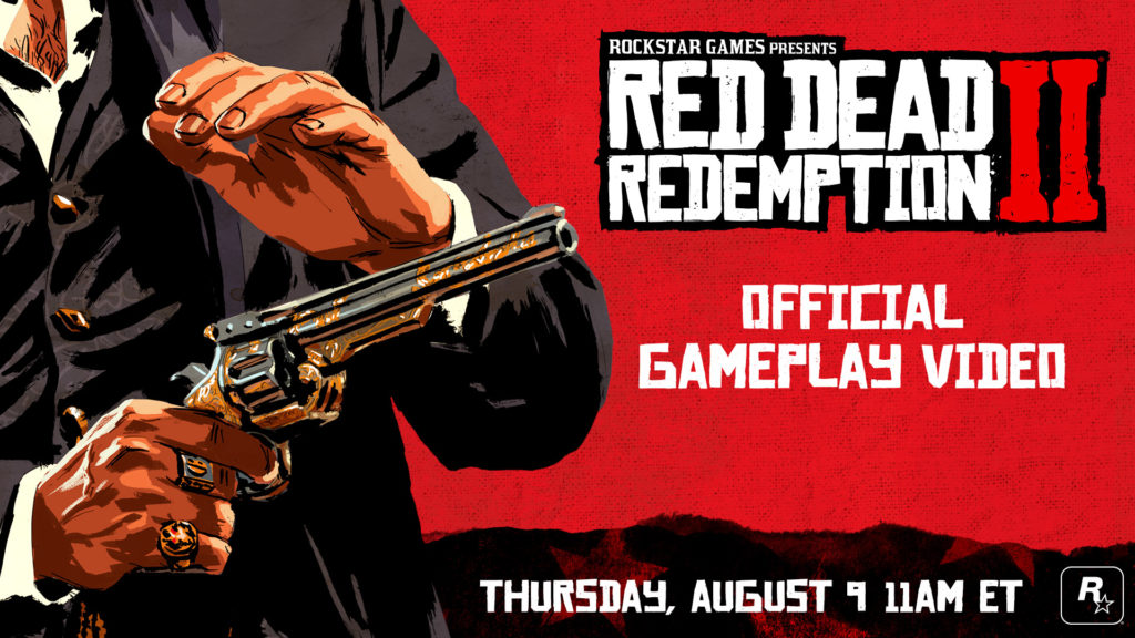 Red Dead Redemption 2 Gameplay Video Lands Later On Today