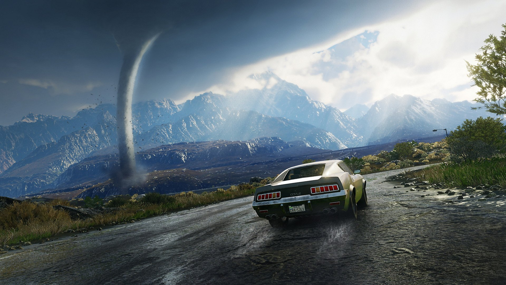 Just Cause 4 Sees Rico Chase Down A Rampaging Tornado