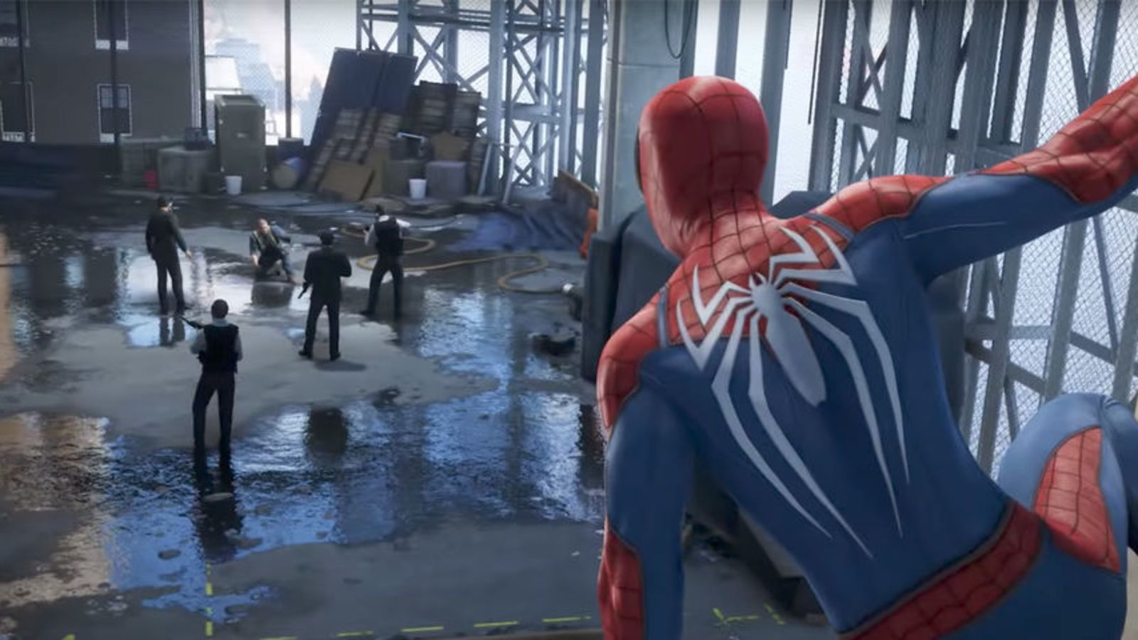PS4 Spider-man Puddle Sparks Massive Fan Outrage On The Internet