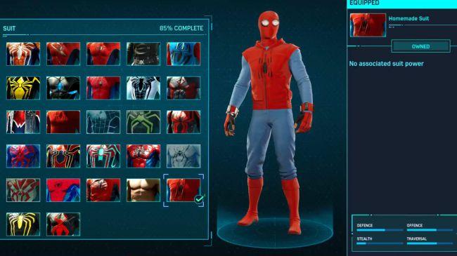 spider man Homemade Suit
