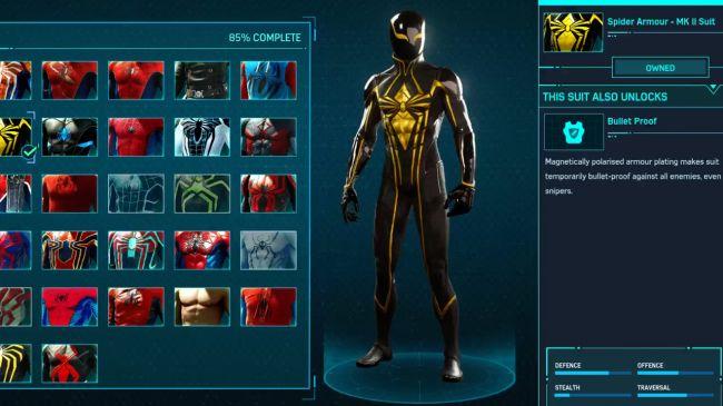 spider man ps4 Spider Armor MK II Suit