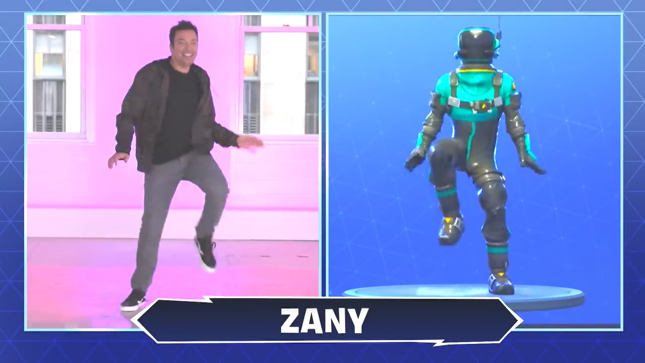 Fortnite Dance Zany