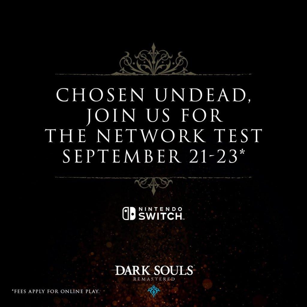 Dark Souls: Remastered Open Network Test Dates Revealed