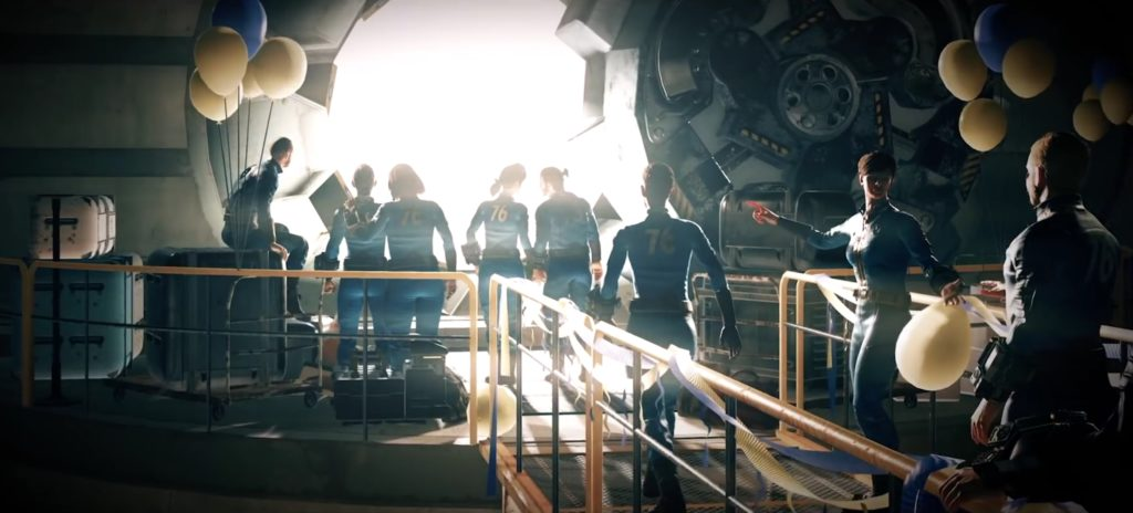 New Fallout 76 Trailer Showcases In-Game Intro & Beta Start Details