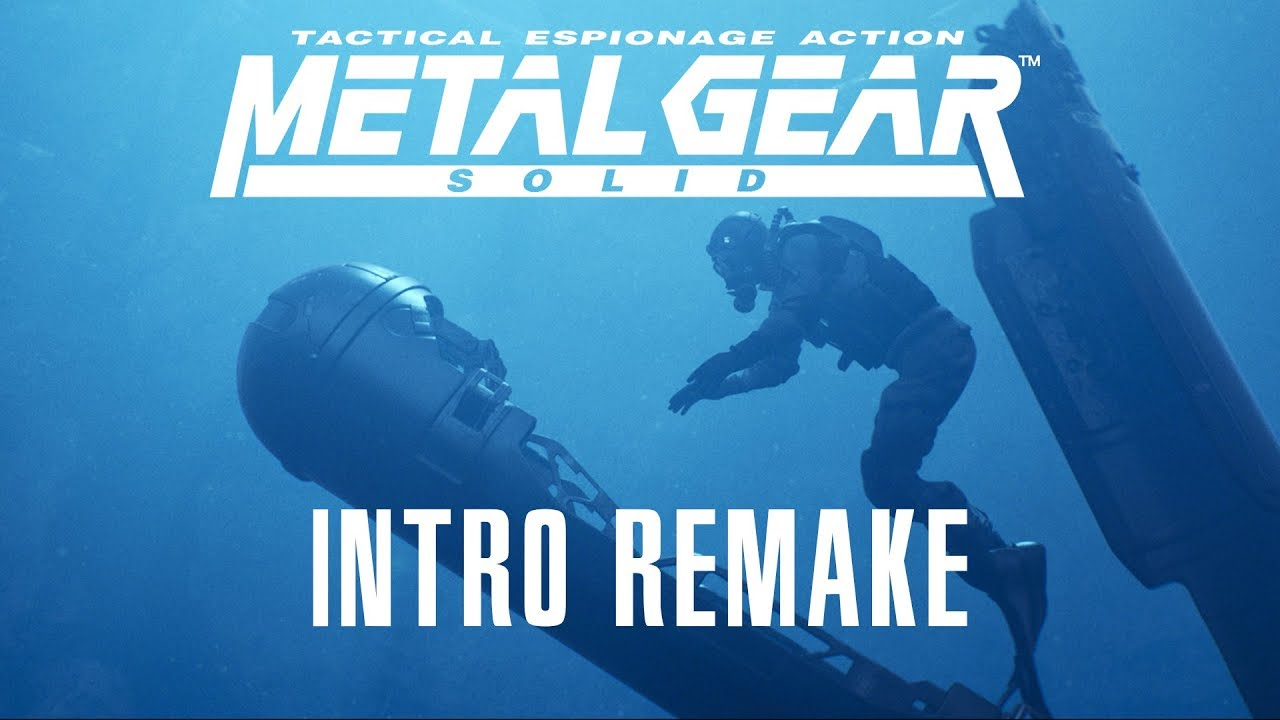 Fan Remakes Opening Sequence Of Metal Gear Solid In UE4 - EXP GG