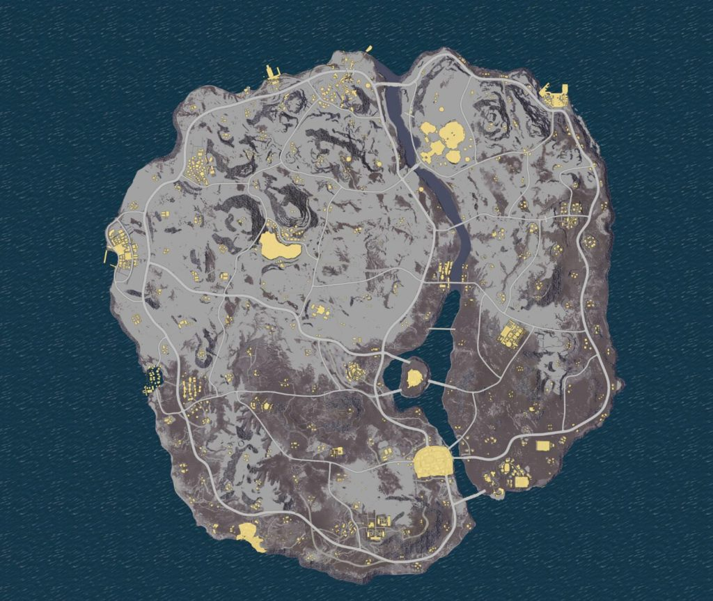 Dataminers Uncover PUBG Snow Map Details