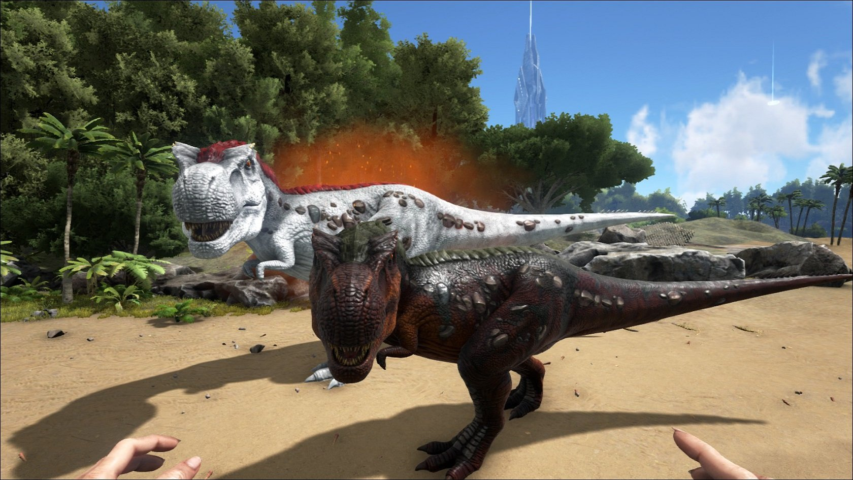 give dino exp ark