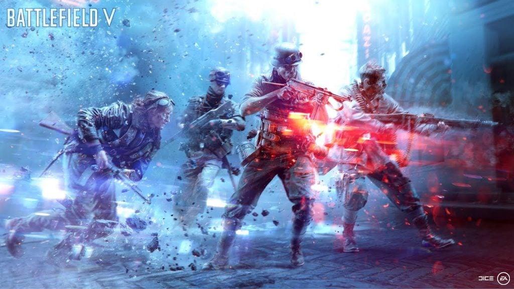Battlefield V Battle Royale Mode Finally Gets A Name - Firestorm