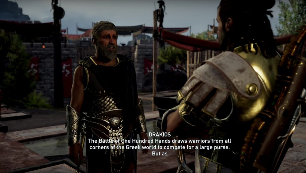 Assassin's Creed Odyssey Has A Battle Royale Mission