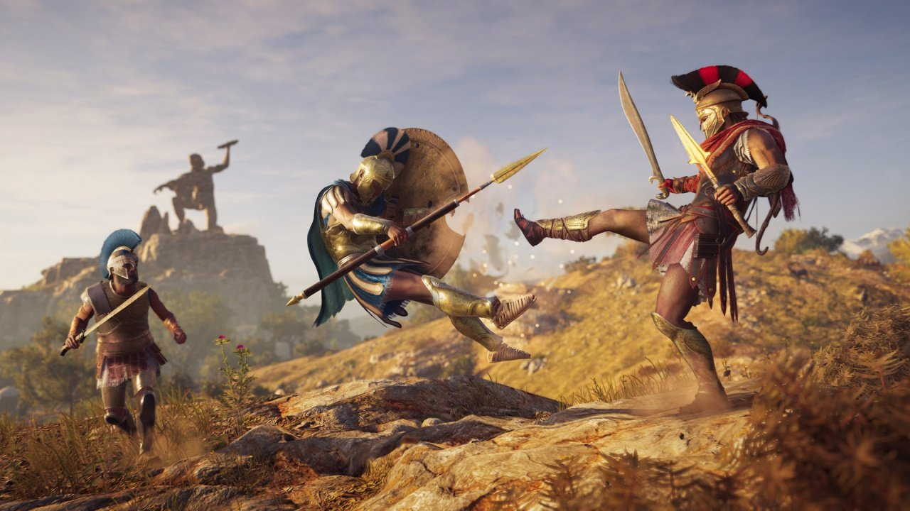 Nestled among the plethora of missions and side quests populating the vast open world of Assassin's Creed Odyssey is an homage