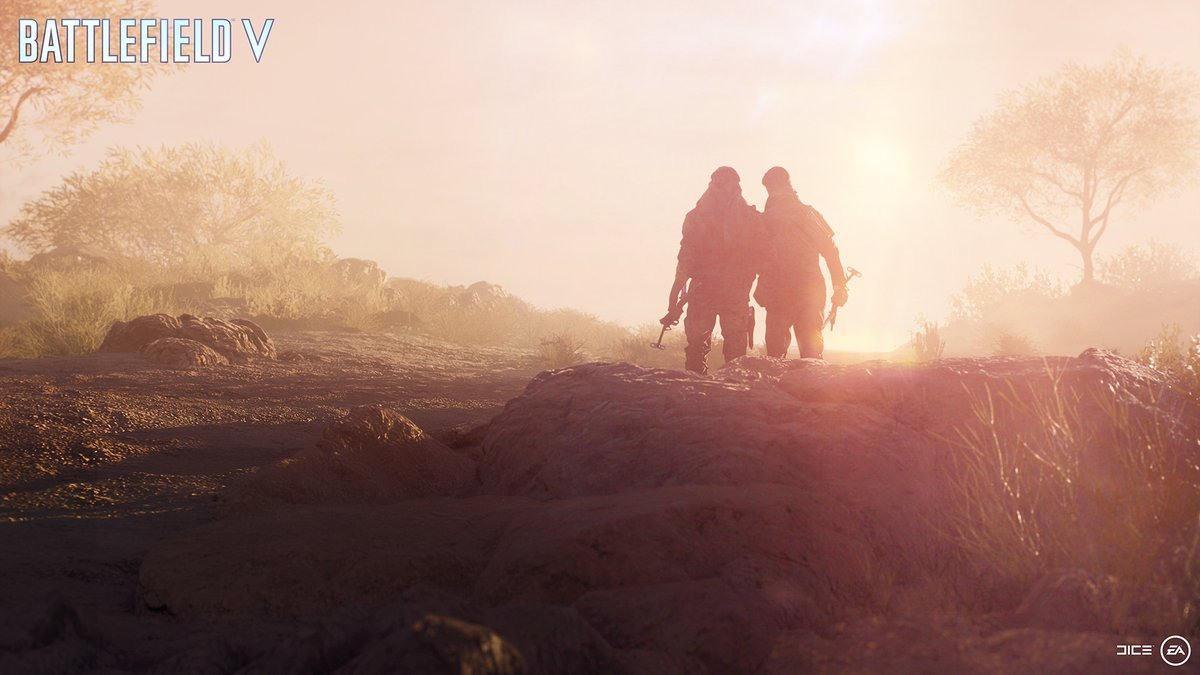 DICE Releases Stirring Battlefield V War Stories Single Player Trailer