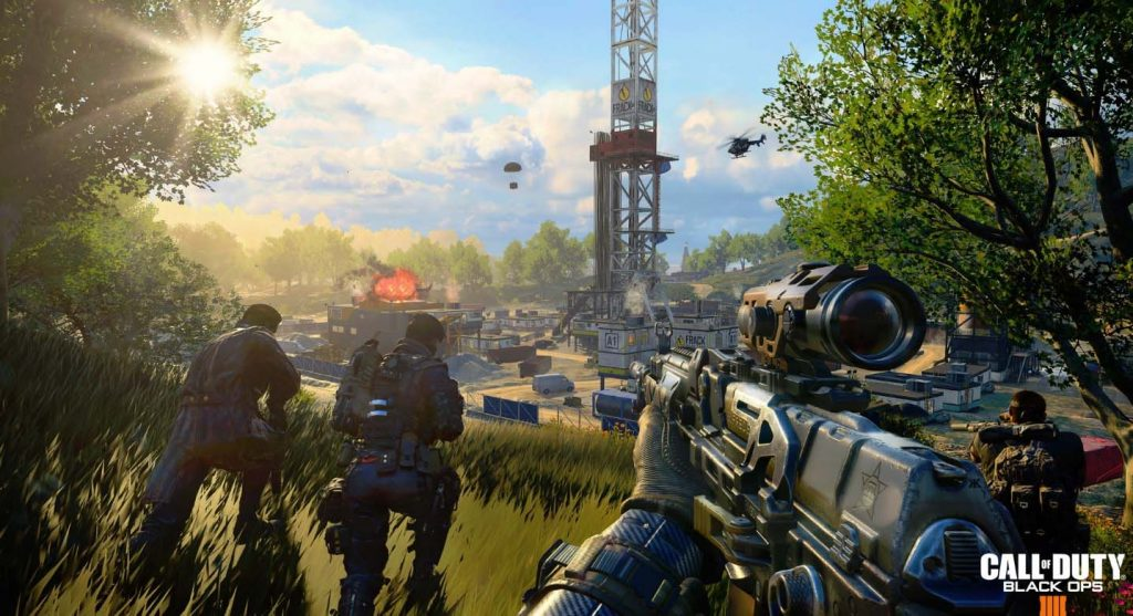 Treyarch Caps Blackout At 120 FPS At Launch To Guarantee Stability