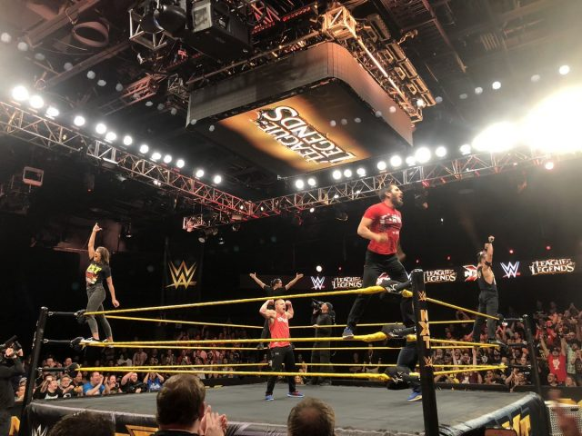Tyler1 跟 Imaqtpie 登上 WWE