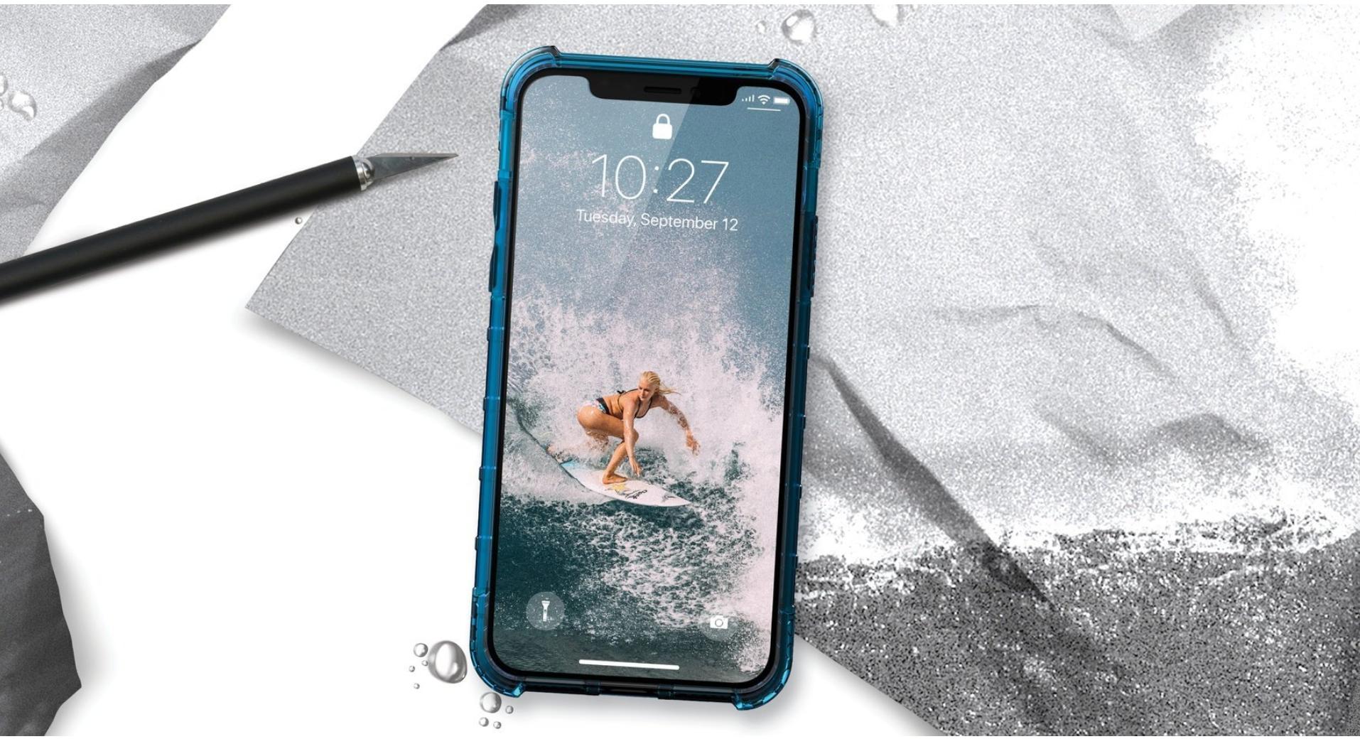 iPhone Xs Xr UAG 保護殻