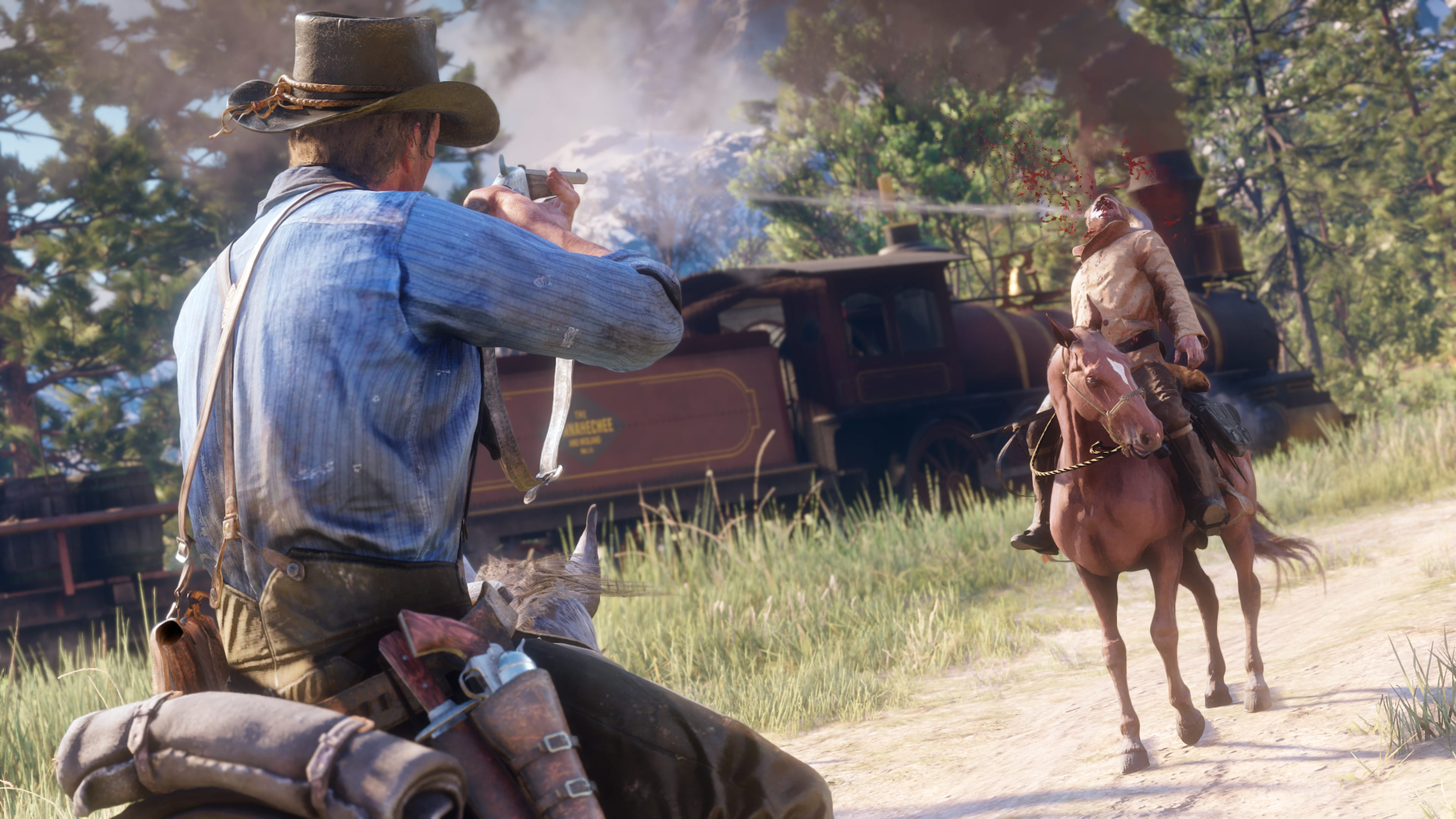 Rockstar Showcases Red Dead Redemption 2 Weaponry & Customization