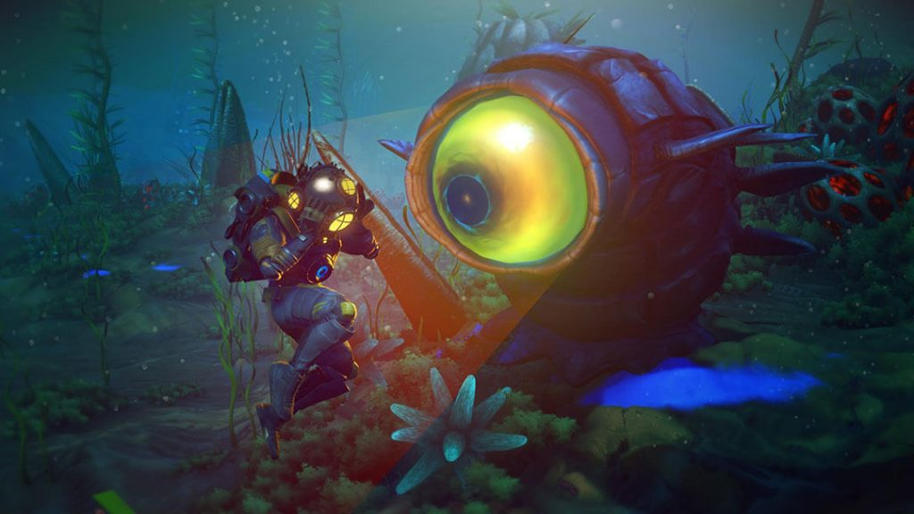 No Man's Sky The Abyss Underwater Update Now Live