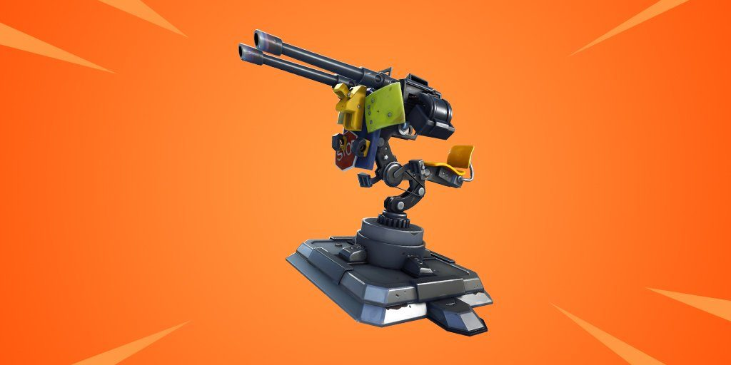 Deployable Mounted Turret Coming Soon To Fortnite