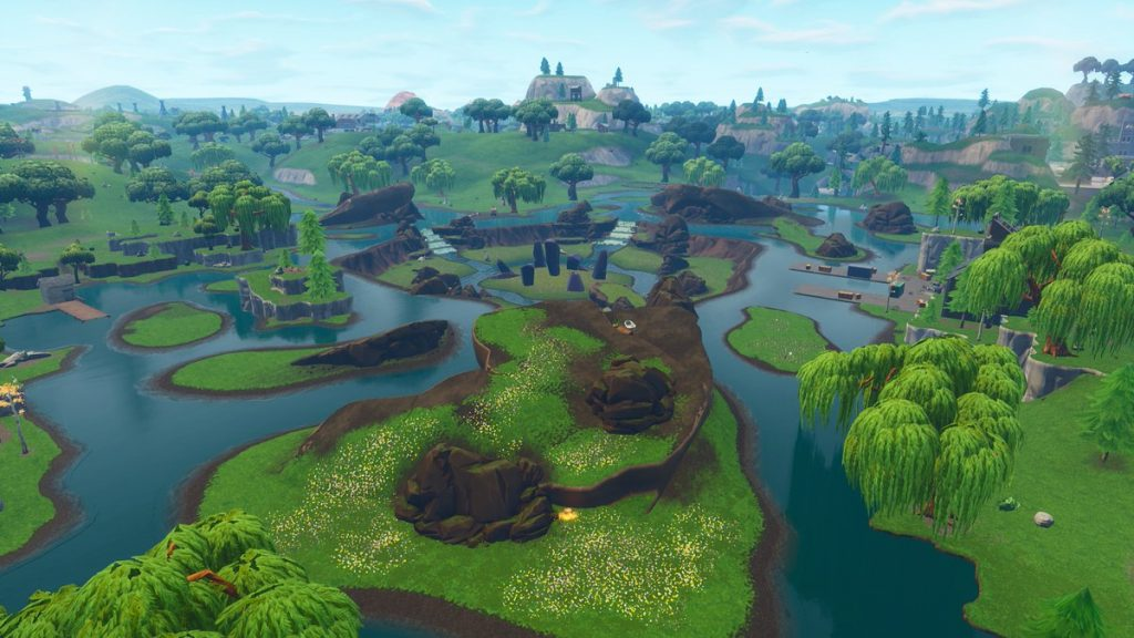 Fortnite's Purple Cube Vanishes In Flurry Of Light To Mark End Of Halloween Event