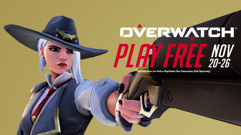 Week Long Overwatch Free Trial Starts Next Week