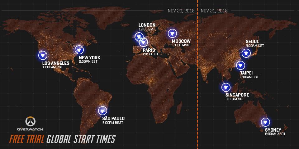 Week Long Overwatch Free Trial Starts Next Week