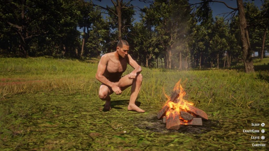 Red Dead Redemption 2 Gets A Nude Mod, But Arthur Ain't Packing No Heat