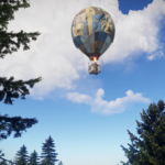 Rust Update Takes To The Skies & Adds Hot Air Balloons