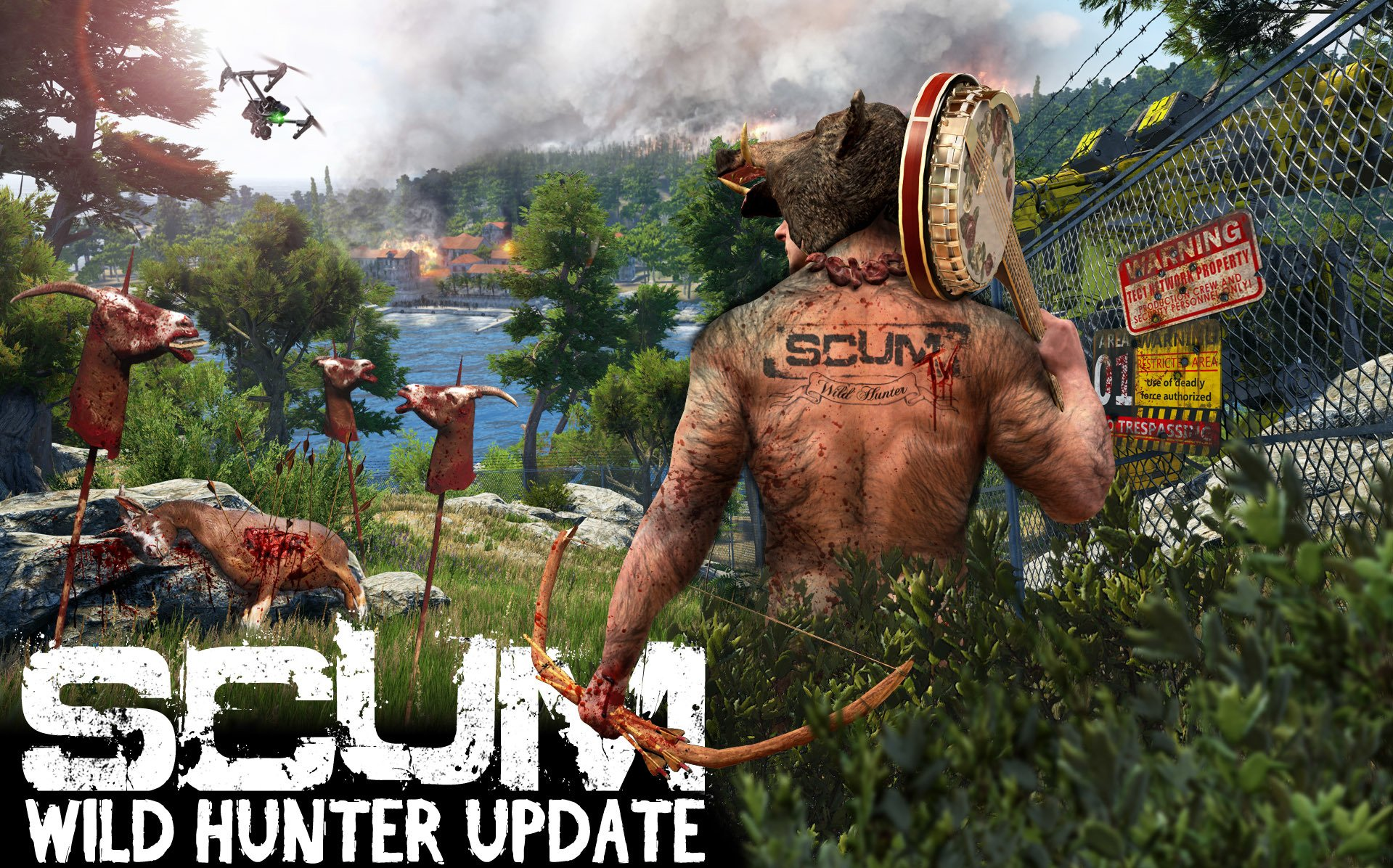 Latest SCUM Patch Allows Players To Add Attribute Points To Dong Size