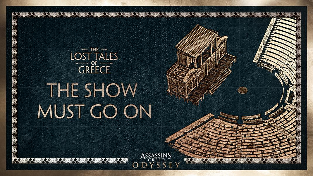Assassin's Creed Odyssey DLC 'The Show Must Go On' Is Live