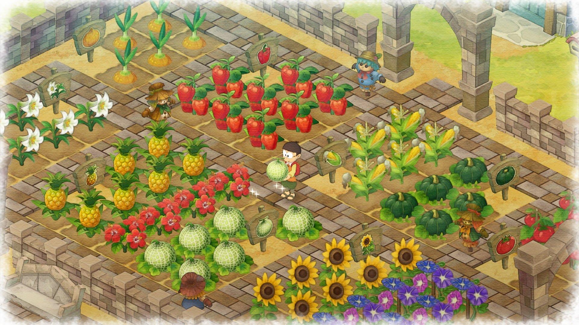 《哆啦A夢 牧場物語》夏天
