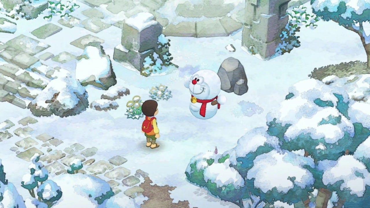 《哆啦A夢 牧場物語》冬天
