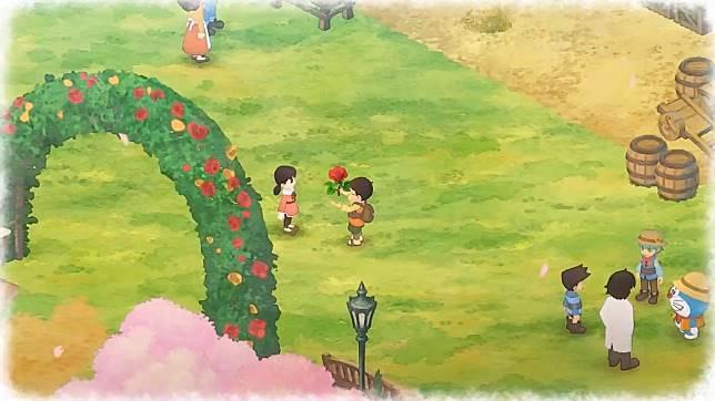 哆啦A夢 牧場物語釣魚