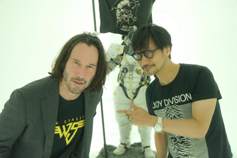 談《死亡擱淺》選角過程細節 小島秀夫:「基努是個好人,未來想給他一些東西」