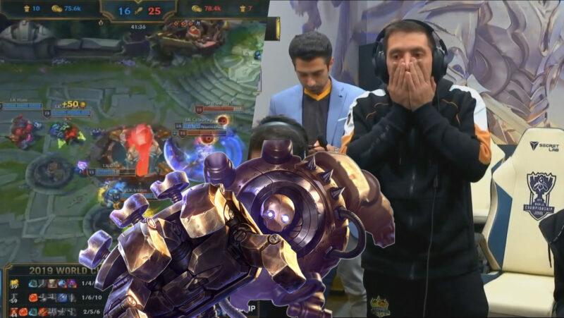 入圍賽 / LK 3傳送戰術送 DWG 首敗,RYL 開大招機器人把自己拉進深淵!
