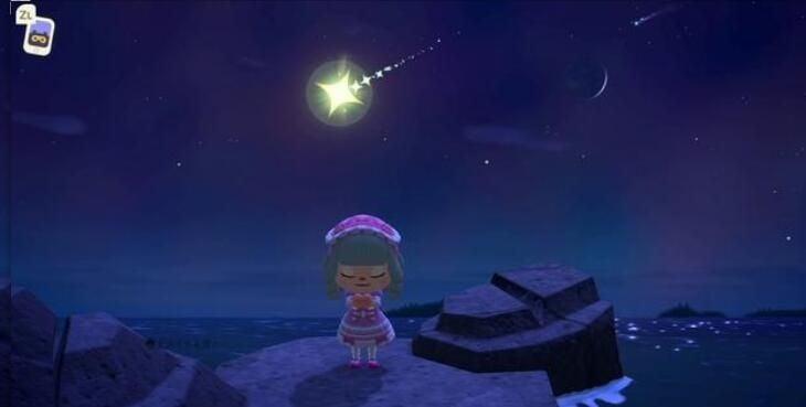 【攻略】 動物森友會 之 貓頭鷹妹來了!如何向流 星 許願?