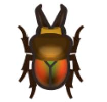 彩虹鍬形蟲