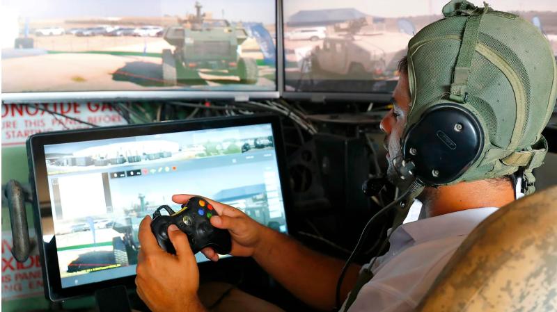 以色列用 Xbox 搖桿操縱坦克車!營長:這玩起來跟《要塞英雄》差不多!